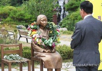 韩国新慰安妇像越来越多 日本人埋怨:鼹鼠打不过来了
