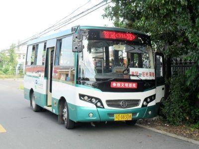 登冠316路公交车