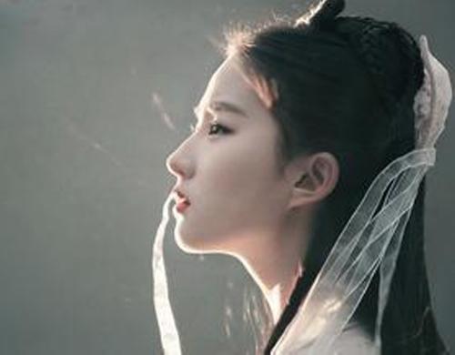 刘亦菲范冰冰赵丽颖 娱乐圈这些女明星的侧颜杀让人心动