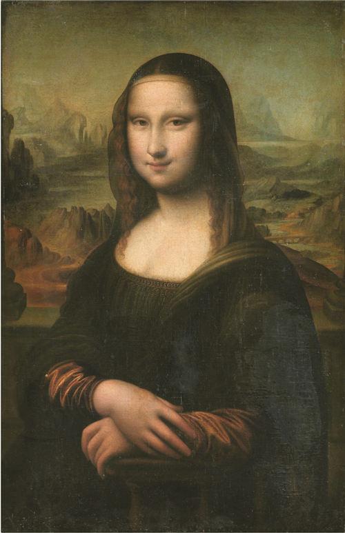 达·芬奇的佚名追随者在16世纪临摹的作品《蒙娜丽莎的微笑》.图片