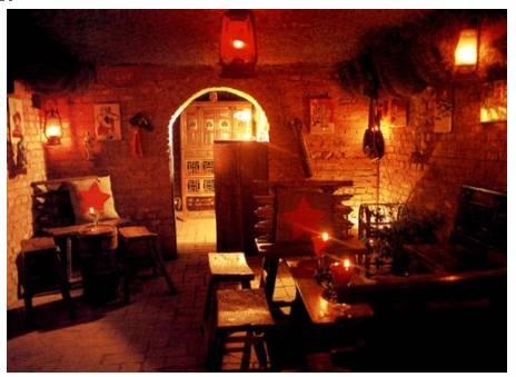 مطعم زهرة التبت الحمراء شعور جديد بالطابع الأسباني
