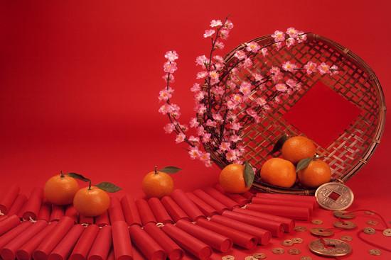 Simbolismo y el Año Nuevo chino alimentos principales y alimentos de la suerte