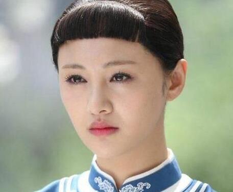 古装明星遇上齐刘海 迪丽热巴被坑惨!图片