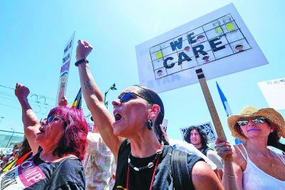 全美抗议骨肉分离