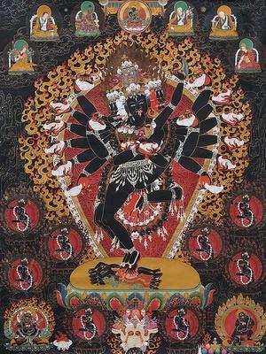 La tradition de la peinture tibétaine exposée à Beijing