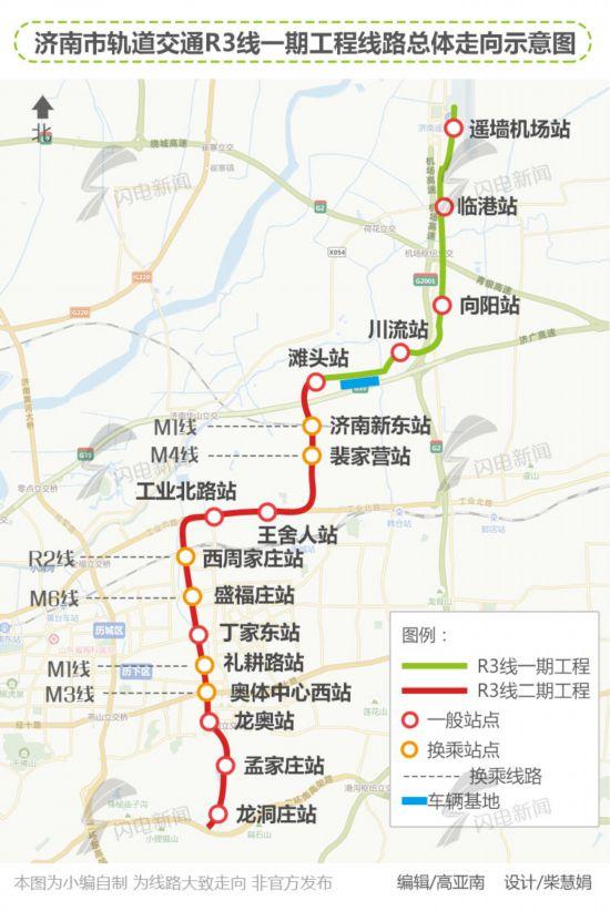 郑济高铁线路图