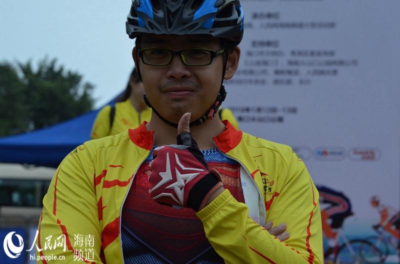 火山自行车文化节骑行盛筵开启 骑友贡献表情包图片