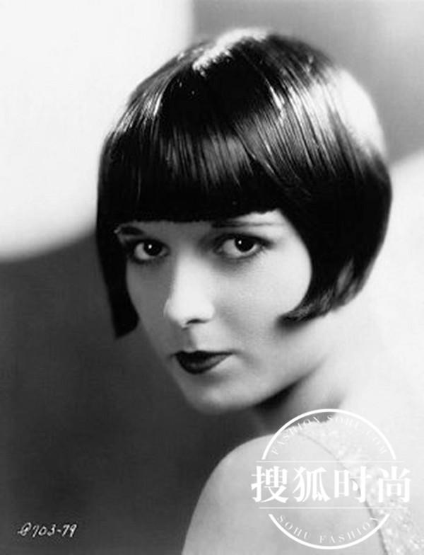 那著名的童花头式齐刘海波波头,一直是当时少女们争相模仿的时尚发型图片