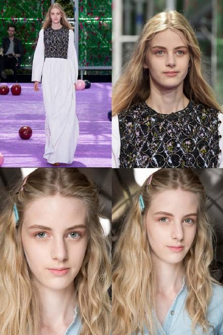 近日,出生于1999年的法国模特走红网络,她名叫deborah deva reeb,不