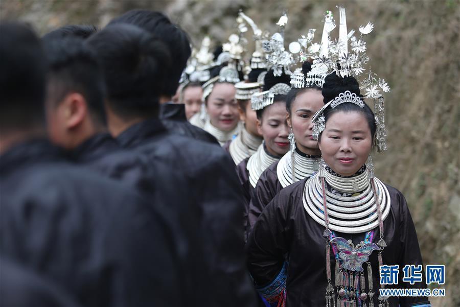 贵州从江:千人哆耶迎春来