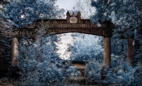 罕见照片揭秘乌克兰切尔诺贝利核禁区景象