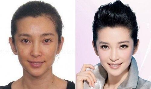 罗晋让女友唐嫣当众卸妆 女明星卸妆后的真实模样大不同 图