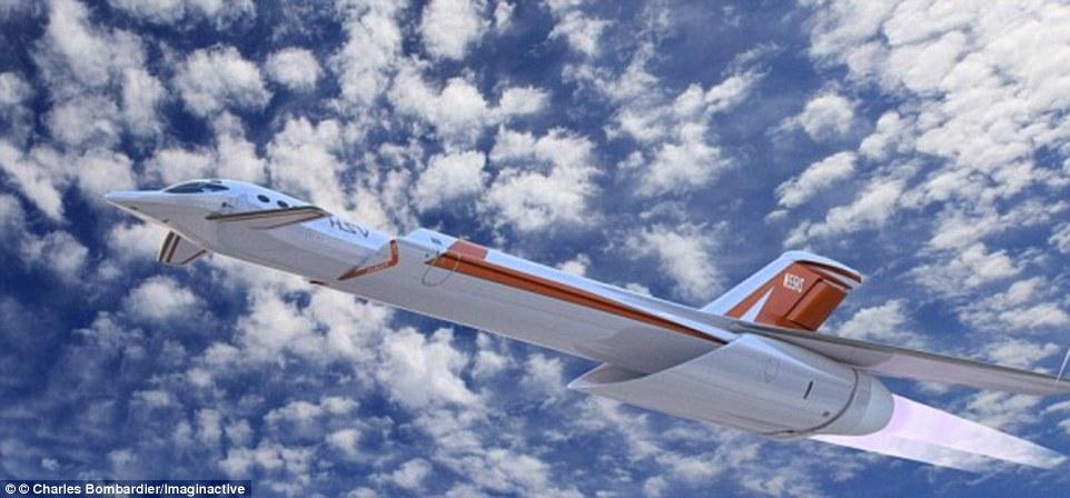 伦敦飞纽约只需3.5小时!全球最快超音速客机将