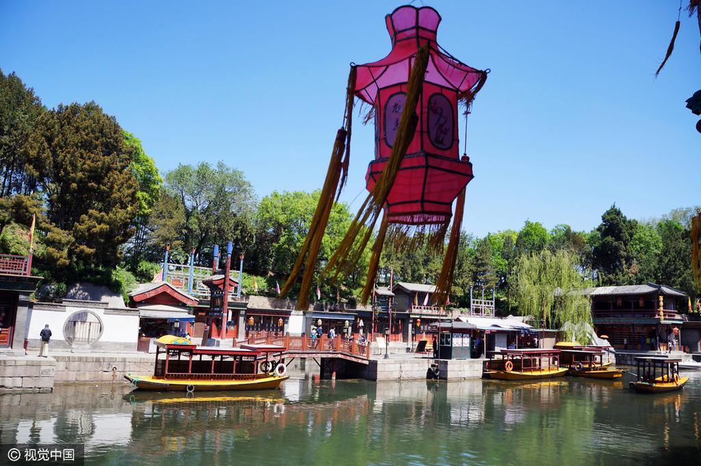 乾隆帝が設計した「商店街」・頤和園の中の蘇州街